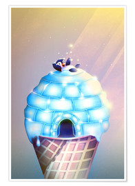 Poster  Igloo Flavour - Romina Lutz