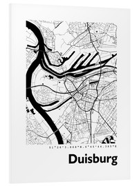 Forex  City map of Duisburg - 44spaces