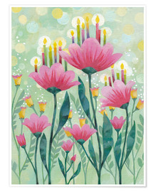 Premium poster  Magic Flower - Aurelie Blanz