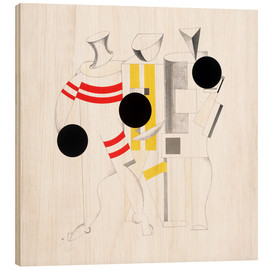Wood  Sportsmen - El Lissitzky