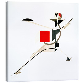 Canvas print  The new man - El Lissitzky