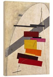 Wood  Proun composition - El Lissitzky