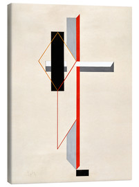 Canvas  Proun composition - El Lissitzky