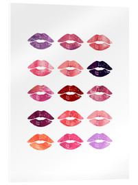 Acrylic glass  Lipsticks - Mod Pop Deco
