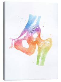 Canvas print  Rainbow hips - Mod Pop Deco