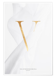 Premium poster GOLD LETTER COLLECTION V