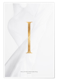 Premium poster GOLD LETTER COLLECTION I