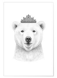 Premium poster Queen polar bear