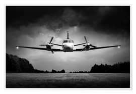 Premium poster  Small airplane low flyby - Johan Swanepoel