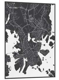 Main Street Maps - Helsinki Finland Map