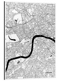 Main Street Maps - London England Map