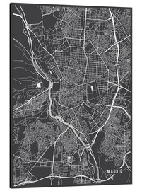 Main Street Maps - Madrid Spain Map