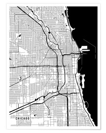 Main Street Maps - Chicago USA Map
