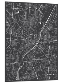 Main Street Maps - Munich Germany Map