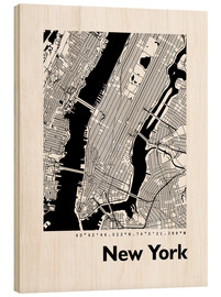 44spaces - City map of New York