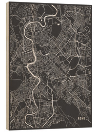 Main Street Maps - Rome Italy Map