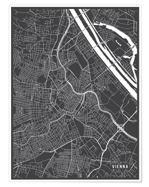 Main Street Maps - Vienna Austria Map