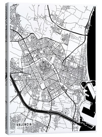 Main Street Maps - Valencia Spain Map