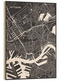 Main Street Maps - Rotterdam Netherlands Map