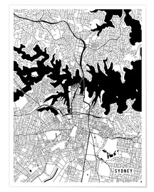 Main Street Maps - Sydney Australia Map
