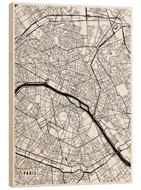 Main Street Maps - Paris France Map