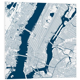 Forex  City map of New York - 44spaces