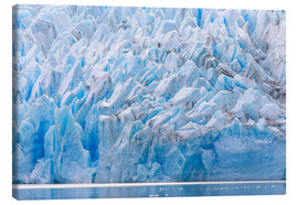 Canvas  Grey Glacier, Patagonia, Chile - Circumnavigation