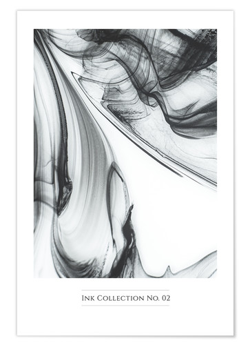 Premium poster INK COLLECTION No.02