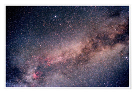 Poster  The Summer Triangle - Science Source