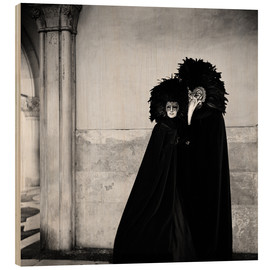 Wood print  Costumes and masks - Millennium Images