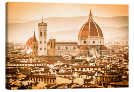 Cubo Images - Cityscape with Cathedral and Brunelleschi Dome, Florence