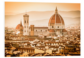 Forex  Cityscape with Cathedral and Brunelleschi Dome, Florence - Cubo Images
