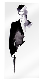 Acrylic print  Business man in a suit - Ikon Images