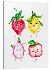 Aluminium print  Naughty fruits - Ikon Images