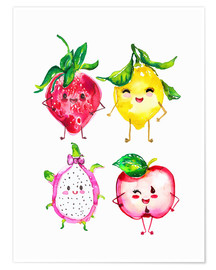 Poster  Naughty fruits - Ikon Images