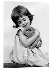 SuperStock - Girl with guinea pig