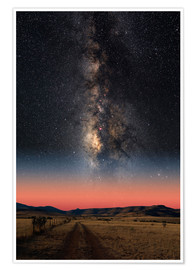 Premium poster  Milky Way - Photo Researchers