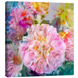 Canvas  layer work from flowers - Alaya Gadeh