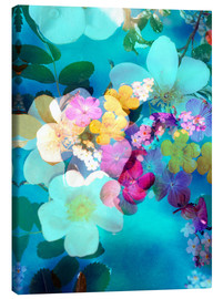 Canvas print  Flowers in the water - Alaya Gadeh