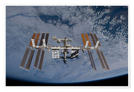 Premium poster  International Space Station - Stocktrek Images
