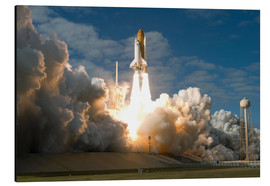 Aluminium print  Space shuttle Atlantis lifts off - Stocktrek Images