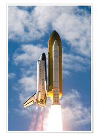 Premium poster  Space Shuttle Atlantis - Stocktrek Images