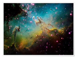 Poster  the Eagle Nebula - Ken Crawford