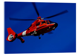 Acrylic print  Coast Guard helicopter - Stocktrek Images