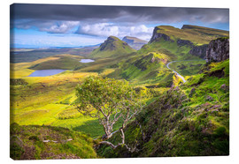Canvas  Quiraing, Isle of Skye, Scotland - age fotostock