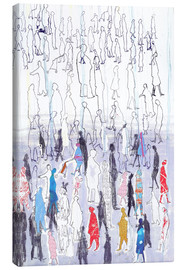 Canvas  Abstract crowd
