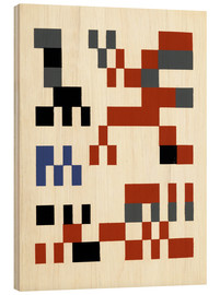 Wood  Composition - Sophie Taeuber-Arp