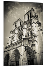 Acrylic print  Notre Dame Cathedral, Paris, France. - age fotostock