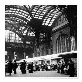 Premium poster  Penn Station, NYC, 1954 - Science Source