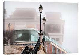 Canvas print  Fog in Lisbon - VIEW Pictures